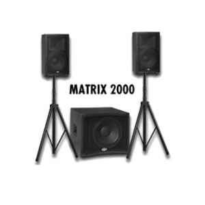 Vand sistem audio compact Matrix 2000