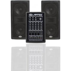 Vand sistem audio profesional pe doua cai Matrix 200