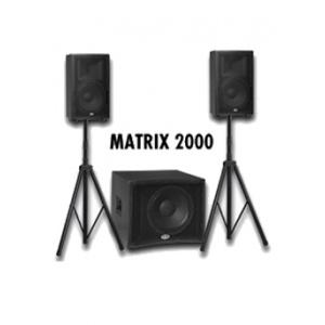 Vand sistem audio activ Matrix 2000 de la B-52