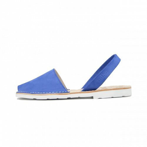 Avarca Mibo Sandale AVARCA din piele intoarsa - Albastru Marin