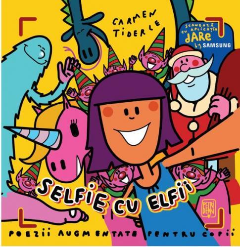 Carmen Tiderle Selfie cu elfii