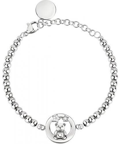 Morellato Ursuleț de brățară din oțel cu cristale SOR25