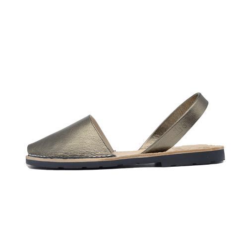 Avarca Mibo Sandale AVARCA din piele naturala - Bronz