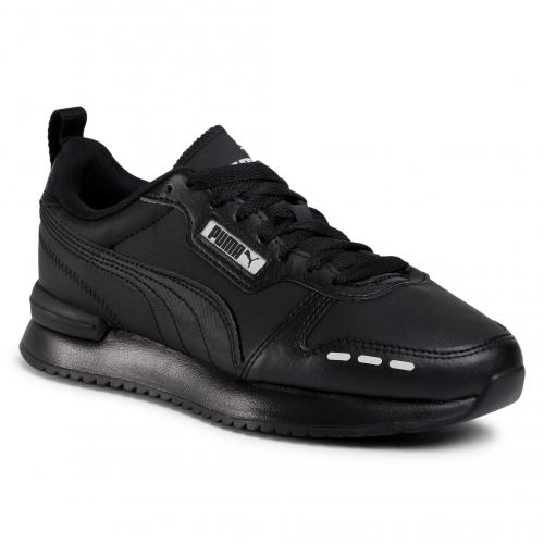 Puma Sneakers R78 Sl Jr 374428 01 Black/Black/Gray Violet