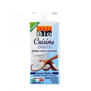 Isola Bio Crema de Cocos (smantana vegetala) 200 ml