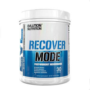 EVLution Nutrition EVL Recover Mode 2:1:1 BCAA Matrix 30 serv Blue Raspberry