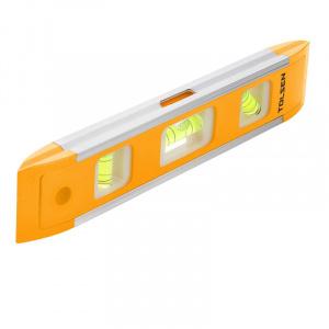 TOLSEN Mini nivela 22.5 cm 3 indicatoare 35059