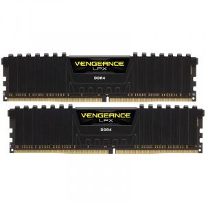 Corsair Vengeance LPX Black 16GB DDR4 3000MHz CL16 Dual Channel Kit CMK16GX4M2D3000C16
