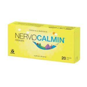 Biofarm Nervocalmin relaxare 20 cps