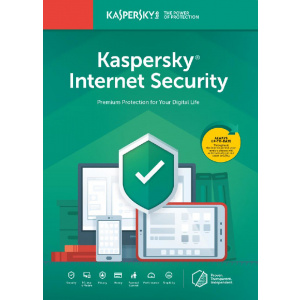 Kaspersky Internet Security 2020, 3 Dispozitive, 2 Ani, Licenta noua, Electronica