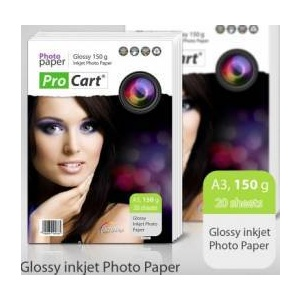 Procart Hartie FOTO Glossy 150g A3