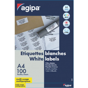 AGIPA Etichete 15/A4 70x50,8mm 100 coli 101119