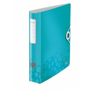 Leitz Biblioraft Active Wow 180, 50mm, plastic PP - turcoaz metalizat