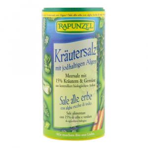 Rapunzel Sare iodata cu 15 % ierburi si legume, bio, 125 g