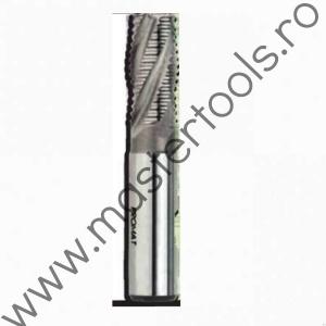 PROMAT Freze HSS-E scurte cu prindere cilindrica 6 mm