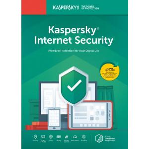 Kaspersky Internet Security 2020, 3 Dispozitive, 1 An, Licenta de reinnoire, Electronica