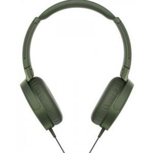 Sony MDR-XB550APW, Extra Bass (Verde)