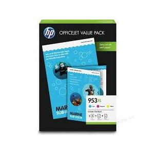 HP 953XL Office Value Pack-75 sht/A4/210 x 297 mm (1CC21AE)