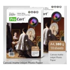 Procart Hartie FOTO Canvas Mata 380g A4