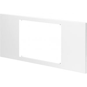 Gewiss gwn1071xb - domo center - panel with windows - metal - h.300 - for master 10'' - white ral 9003