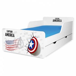 Olimpiu Captain America 2-12 ani cu sertar