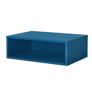 [en.casa] Dulap design combinat – sistem rafturi de perete - 45x15x30 cm - turcoaz