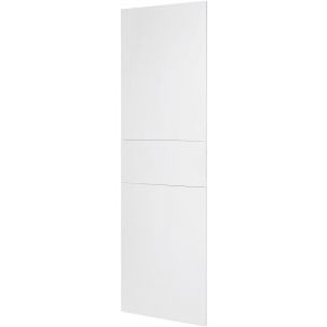 Gewiss gwn1661xb - domo center - front kit - without door - upright column - h.2400 - metal - white ral 9003