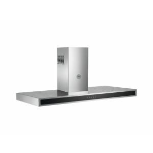 Bertazzoni Hota perete 120 cm Inox  Sticla neagra design Neutral