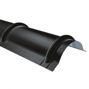 Rufster Coame pentru tigla Extra 0,55 mm grosime 9005 MPR negru super-poliester
