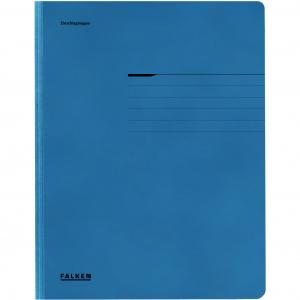 Falken Dosar plic Lux, carton, 320 g/mp, A4, albastru FA09403