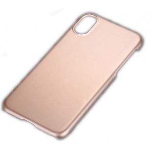 X-level Husa protectie spate metallic gold pt iPhone X