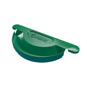 Rufster Capac jgheab Q150 verde 6005 (universal)