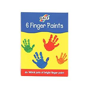 Galt Set 6 acuarele lavabile pentru pictat cu mana