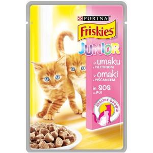 Friskies Cat Plic Junior Pui in Sos 100 g