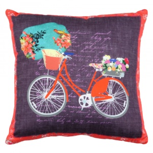 Stof Perna mov cu bicicleta rosie