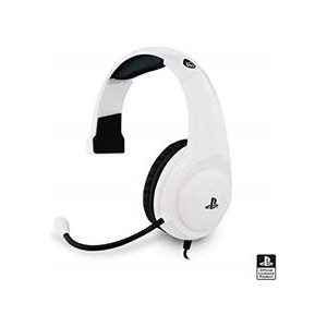 4Gamers Casti Officially Licensed Pro4 Mono Gaming Headset White Ps4