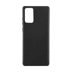 Lemontti Husa Silicon Silky Samsung Galaxy Note 20 Negru