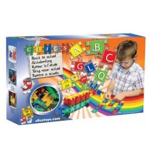Clics Toys Set de constructie La Scoala