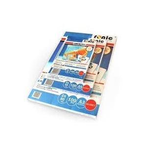 Ronic Folie pentru laminare 75 x 105 mm, 80 microni 100buc/top