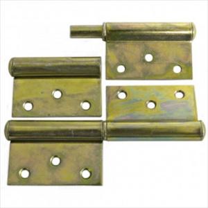 Strend Pro Balama incastrata pentru usa, 120x68x2 mm, zincata Yzn T0018
