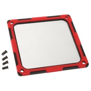 SilverStone Filtru praf 120mm rama magnetica silicon Black/Red (SST-FF124BR-E)
