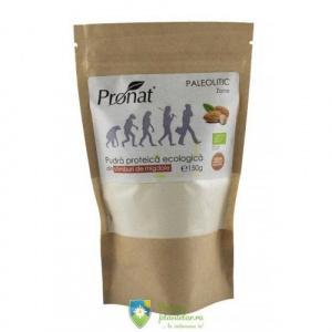 Pronat Pudra proteica Bio din samburi de migdale 150 gr
