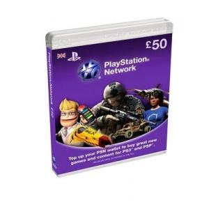 Sony Playstation Network Card 50 Lire