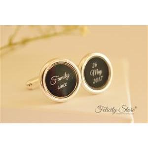 Felicity Store Butoni personalizati argint 925
