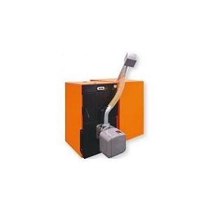 Ferroli Pachet centrala termica pe lemne si peleti FSB 3 35+Arzator peleti  SUN P7 N+Rezervor peleti 195 Litri