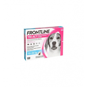Frontline Tri-Act Spot-On M 10-20 kg 3 pipete