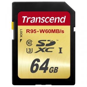 Transcend SDXC 64GB W60 (TS64GSDU3)