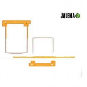 Jalema Alonja arhivare de mare capacitate, 10/set Clip - galben J-5710200