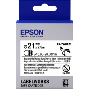 Epson LK-7WBA21 label-making tape