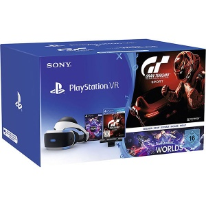 Sony PlayStation VR + joc Gran Turismo + Camera PS + voucher VR Worlds